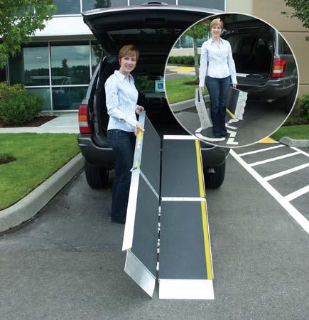 EZ-ACCESS Tri-fold suitcase ramps
